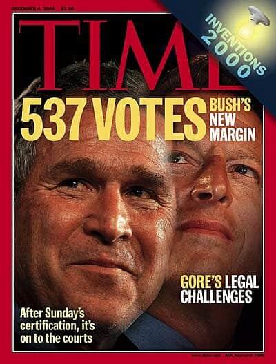 bush gore 2000