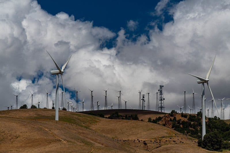 wind california