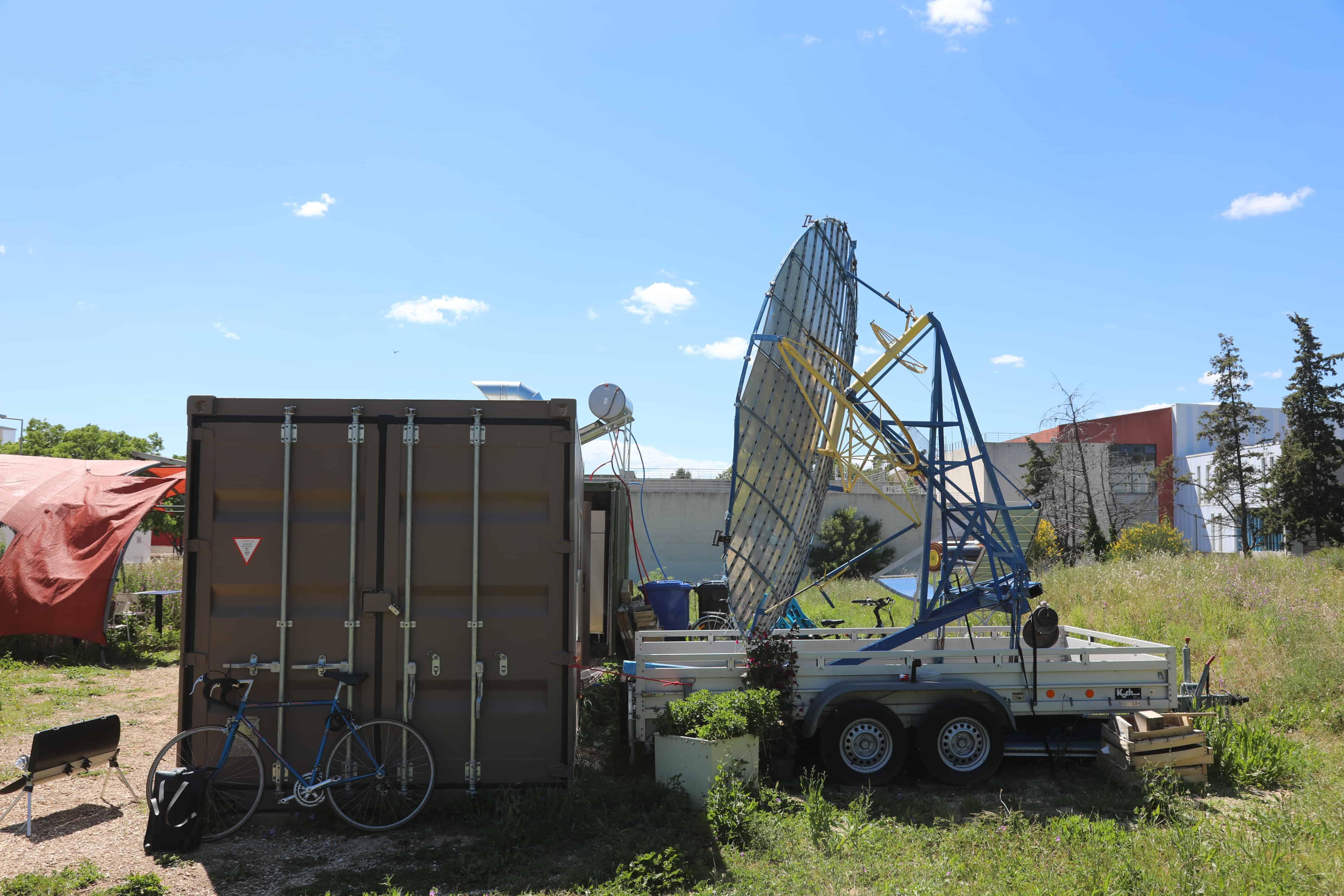 solar power restaurant