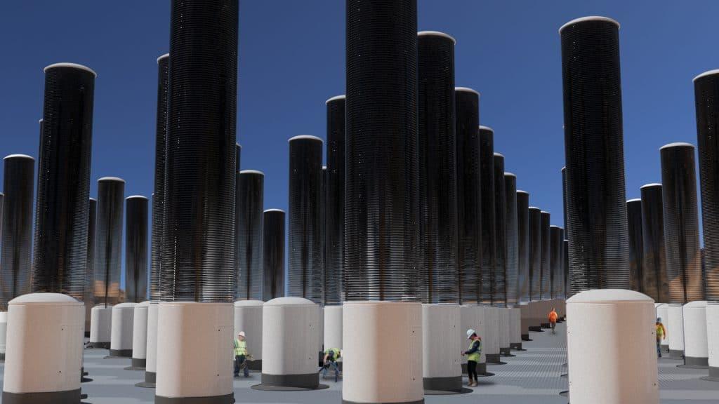 artificial forest carbon capture