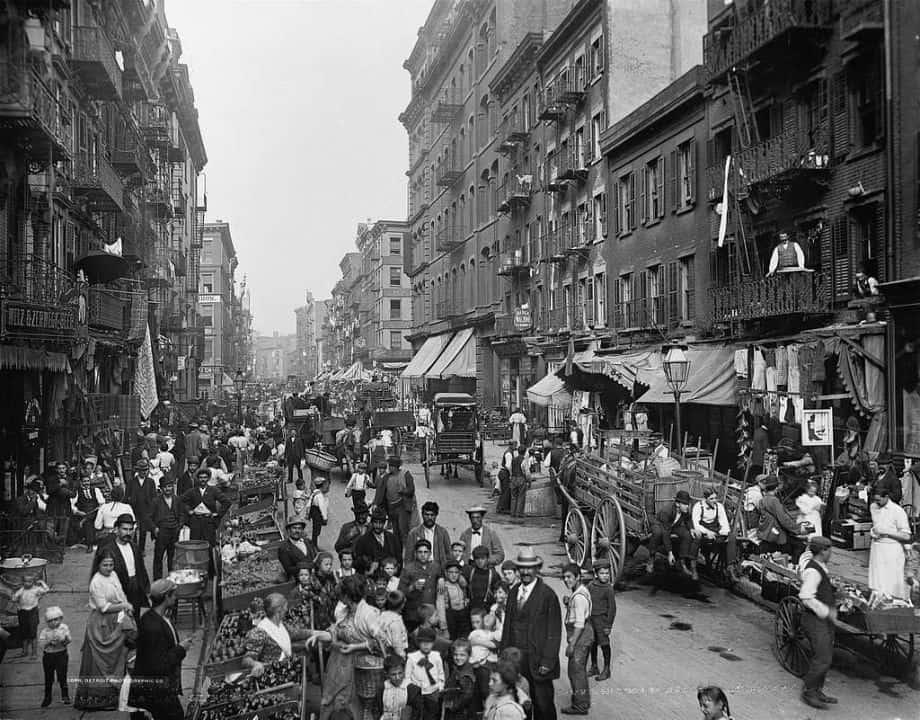 NYC street vendors history