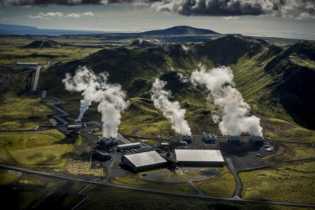 ON Hellisheiði geothermal power plant
