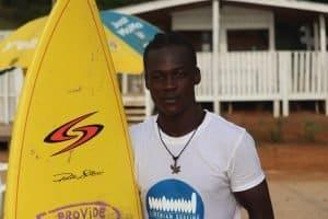 liberia surfing